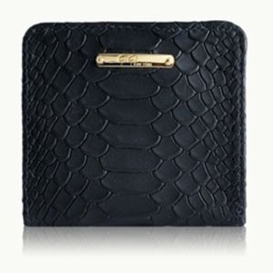 GiGi New York MINI FOLDOVER WALLET  Python NWOT